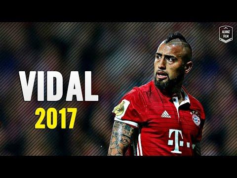 Arturo Vidal - Crazy Defensive Skills x Goals 2017 | HD