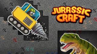 UNDERGROUND T-REX EXCAVATION! (Minecraft Jurassic Craft)