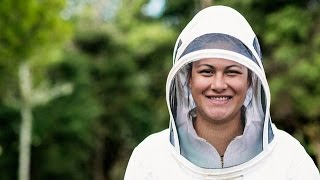 Our Stories - Mere Vaka, Apprentice Beekeeper