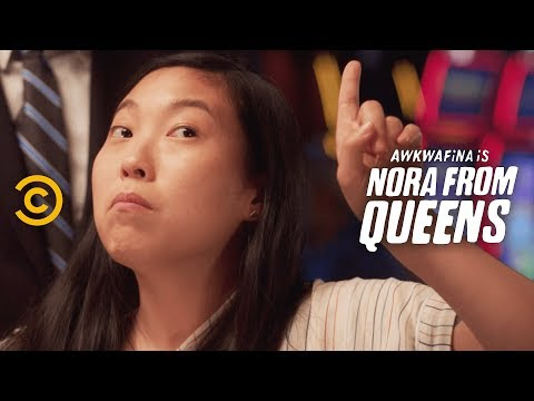 Wait, Drinks Are Free at a Casino? - Awkwafina is Nora from Queens