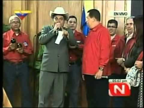 Poemas y coplas del presidente Hugo Chávez y Cristóbal Jiménez  (16 de julio de 2011)