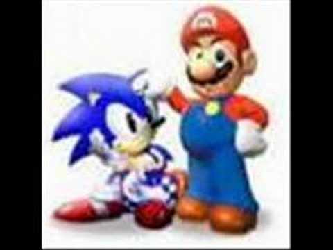 Mario VS Sonic (видео)