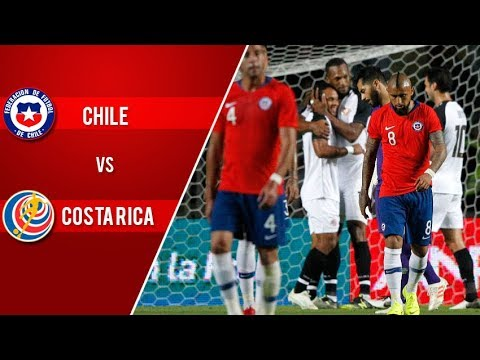 Chile 2 - 3 Costa Rica | Amistoso 2018