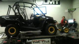 11. 2012 Can Am Commander 1000x Dyno run