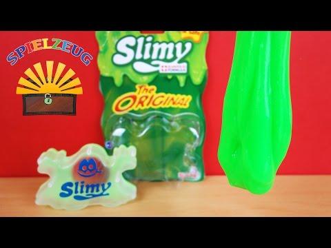 Simba  - Slimy Grün Monster Schleim Glibber Slime magic magischer Schleim Review Original  auspacken