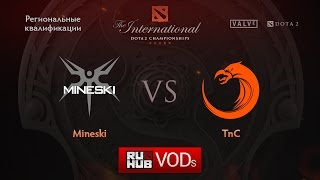 Mineski vs TnC, game 1