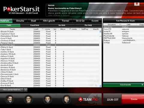 Pubblicità PokerStars.it