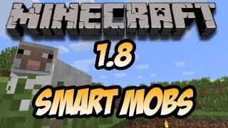 Minecraft Beta 1.8 - Smart Mobs (HD)