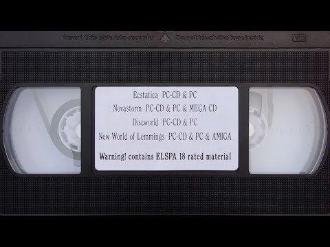 Psygnosis Liverpool | Retail Video Game Store Promo VHS | 1994