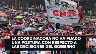 40 aniversario de la CNTE y sus desafíos con el gobierno