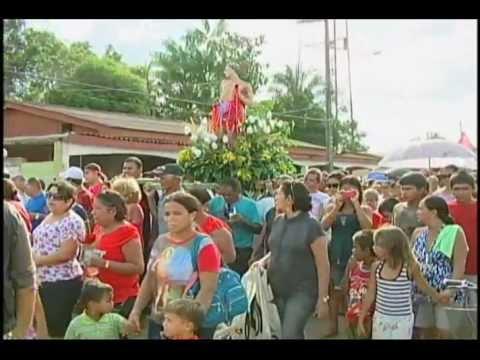 Procissão de São Sebastião em Xapuri 2012 - TV ACRE