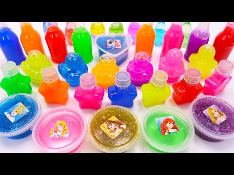 Learn Colors With Rainbow Slime For Kids | Cooking Noodles  Cartoon,Satisfying Slime Videos