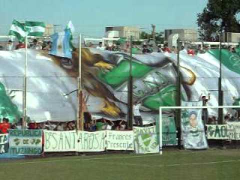 NUEVO TELON DE LA HINCHADA DE ITUZAINGO!!! (2) - La Banda del León - Ituzaingó