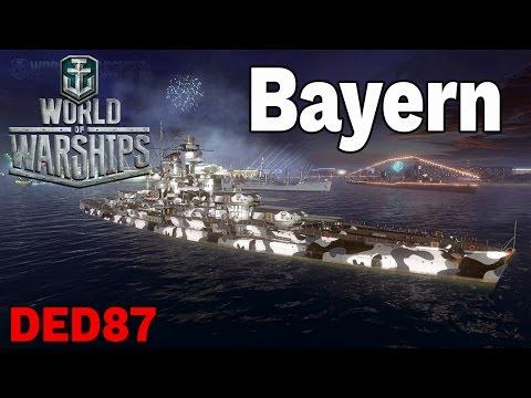 broń bazy  - Bayern- World of Warships
