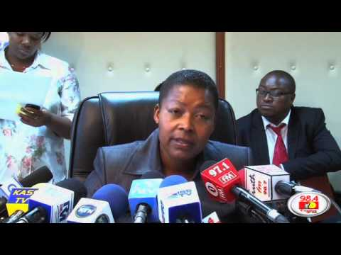 Acting Deputy Director of Public Prosecutions on  post election violence cases