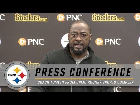Mike Tomlin on Le'Veon Bell's Status & Week 11 Matchup vs. Jaguars | Pittsburgh Steelers
