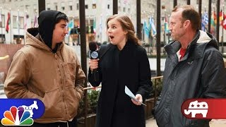 Tonight Show writer Becky hits the streets of New York to bring real Republicans and Democrats together to help them find things they have in common. Subscri...