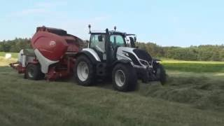 Video VALTRA T144 + Lely Welger RPC 445 Tornado MP3, 3GP, MP4, WEBM, AVI, FLV Februari 2019