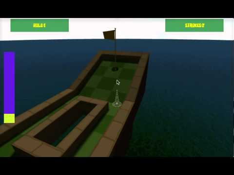 Video of Mini GOLF 3D