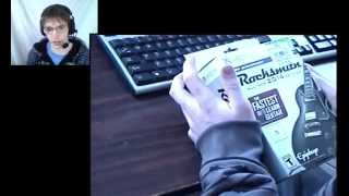 In this video, techiet95 unboxes Rocksmith 2014 edition with realtone cable for Xbox 360. If you enjoyed this unboxing, Please rate, comment, and most ...