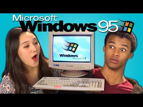 Video TEENS REACT TO WINDOWS 95 download in MP3, 3GP, MP4, WEBM, AVI, FLV January 2017