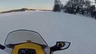 9. Ski-doo 1200 4-Tec Renegades (Lake Run)