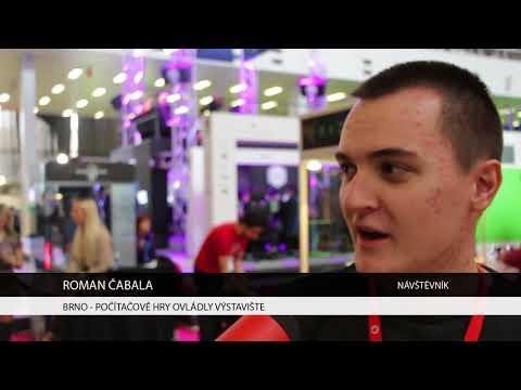 TV Brno 1: 13.11.2017 Počítačové hry ovládly výstaviště