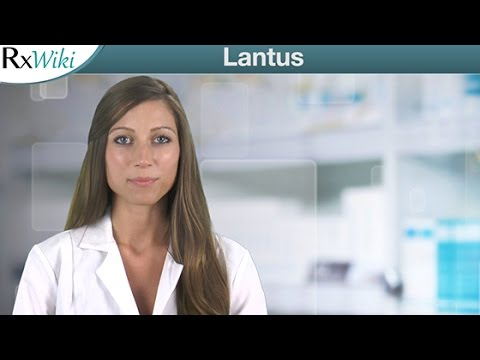Lantus The Brand Name For Insulin Glargine - Overview