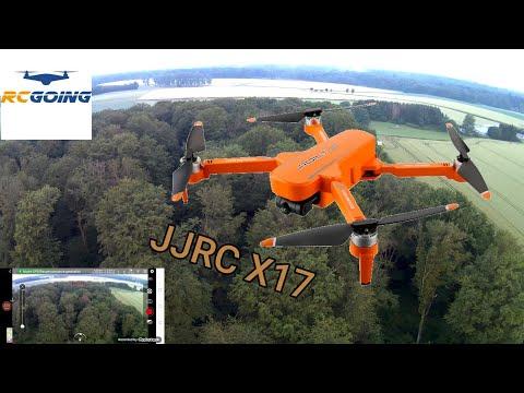 JJRC X17 ,REVUE , TEST , RC GOING DRONE