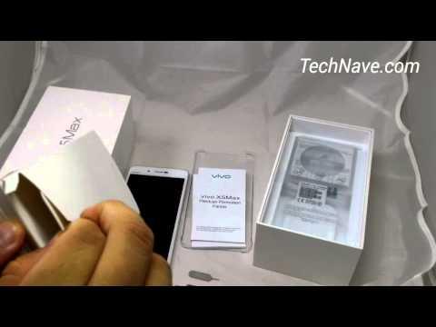 vivo X5Max unboxing video at TechNave.com