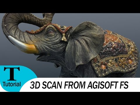 3D скан в Agisoft Photoscan на Русском. (3d Scanning with Agisoft PhotoScan).