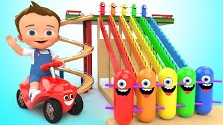 Video Learn Colors for Children with Baby Game Play Wooden Toy Funny Clown Tumbling 3D Kids Educational MP3, 3GP, MP4, WEBM, AVI, FLV Desember 2018