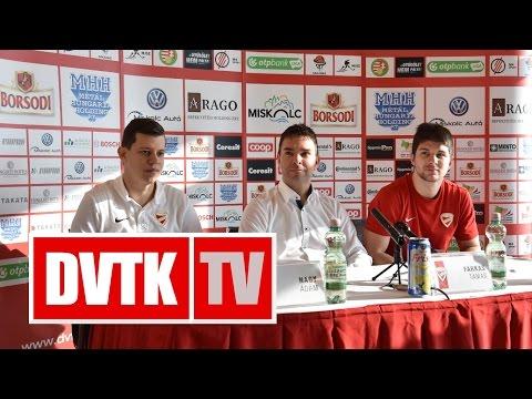 """""""Nem szabad lazítani""""   2016. november 24.   DVTK TV"""