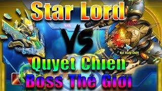 Bang Bang trên zing me - Star Lord quyết chiến Boss Thế Giới