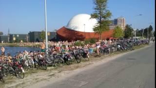 Stadsstrand Groningen achter Het Paleis is groot succes