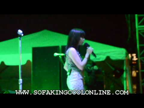 CARLY RAE JEPSEN LIVE - CALL ME MAYBE -.live 6-2-12