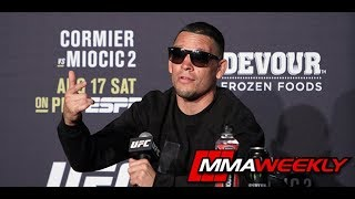 UFC 241 Post-Fight Press Conference: Nate Diaz  (Complete) by MMA Weekly