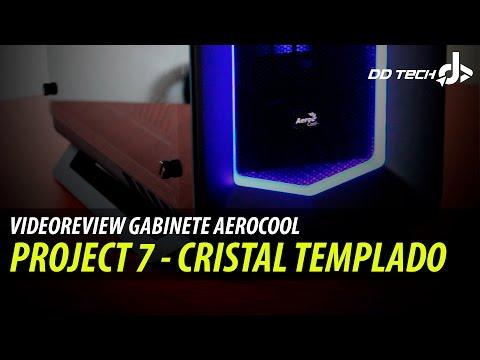 Gabinete Aerocool Project 7 - Quieres ganarlo? - Videoreview Edicion Tempered Glass (видео)