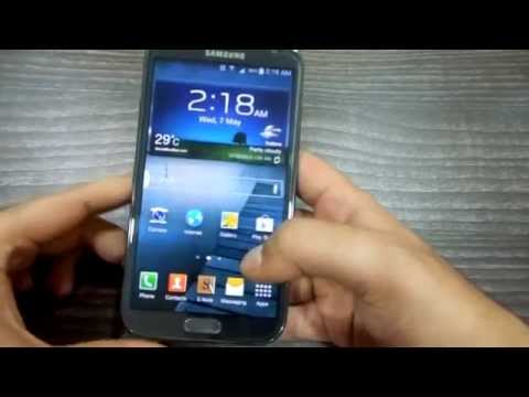 Official Samsung Galaxy Note 2 Android Kitkat 4.4.2 Update and Its Changes