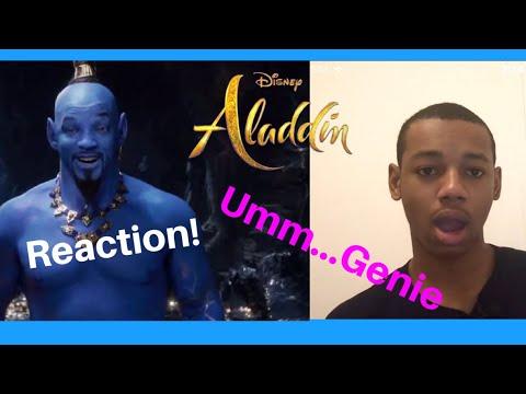 Aladdin Special Look (2019) Trailer Reaction!!!
