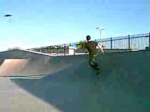 scary boardslide pecos skatepark