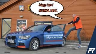 Video. Follo Trafikkteam på vei til BMW Winter Experience.