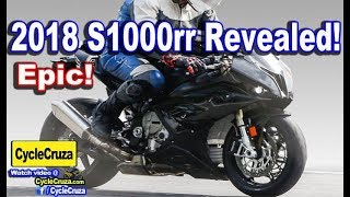 1. All New 2018 BMW S1000rr Revealed! Not UGLY Anymore!