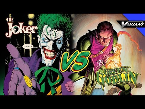 Battle - Today Arris puts Joker up against Green Goblin because you guys voted for it! Plus find out what comics you should get this week! **New Episodes Every Wednesday!** Subscribe to Variant and...