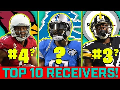 Top 10 NFL Receivers of the 2010's!