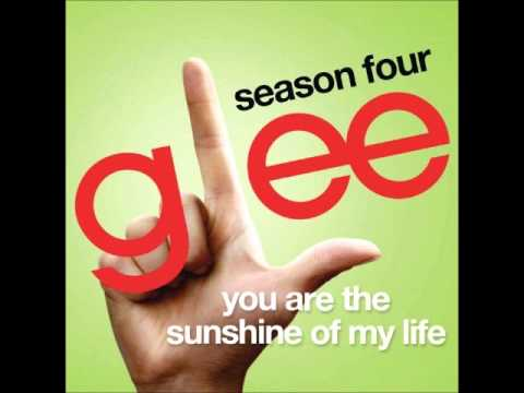 Glee - You Are The Sunshine Of My Life (DOWNLOAD MP3 + LYRICS)