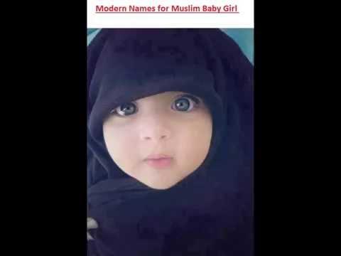 Modern Muslim Baby Girl Names