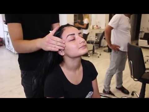 ASMR Turkish Barber Face Head And Back Massage 5