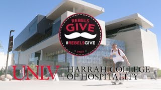 #RebelsGive: Building a Foundation for Students with UNLV Hospitality