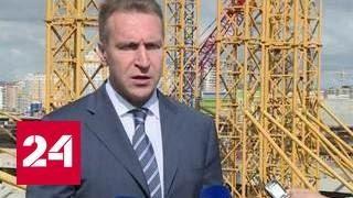 Шувалов проверил подготовку Саранска к ЧМ-2018